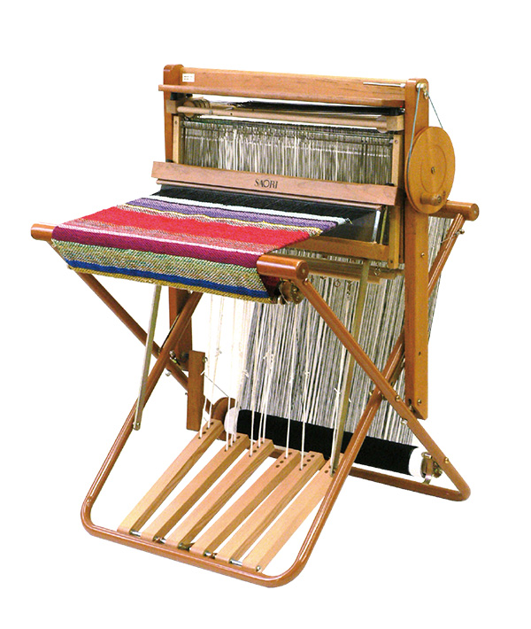 手織機SAORI 4枚枠組込み式