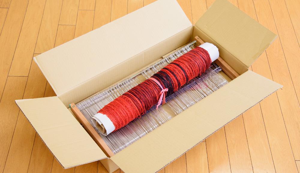 タテ糸セットの入れ替えに必要です。
